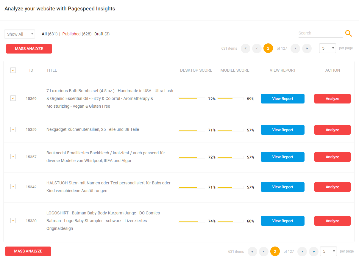 pagespeed insights - analize - PageSpeed Insights